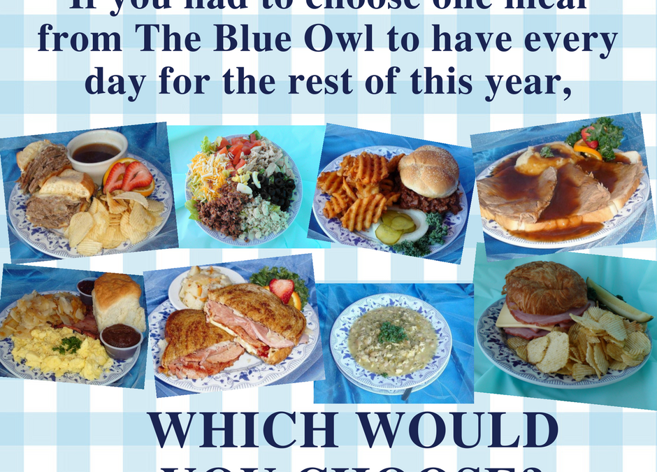 What Your Favorite Blue Owl Meal Says About You