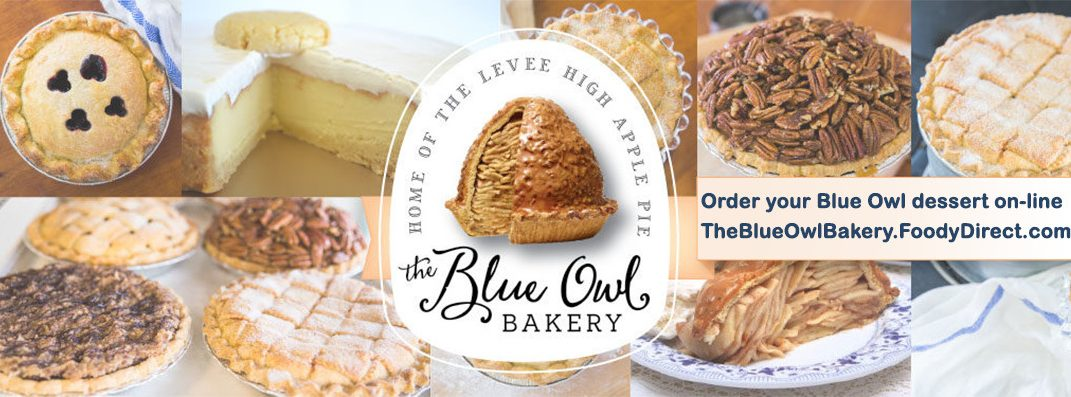 Order from The Blue Owl Bakery on-line
