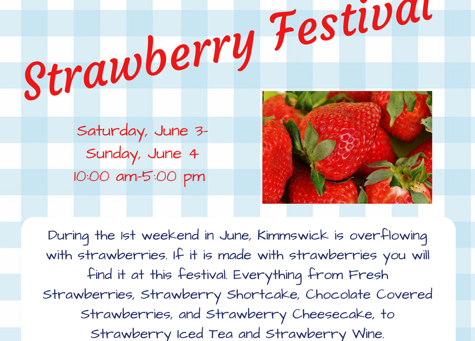 ~ 2017 Strawberry Festival ~